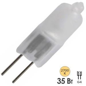 Лампа галогенная HC FR 35W 12V G4 матовая