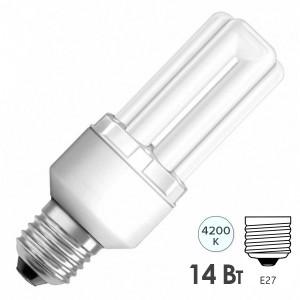 Лампа энергосберегающая Osram Dulux INT LL 14W/840 E27