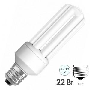 Лампа энергосберегающая Osram Dulux INT LL 22W/840 E27