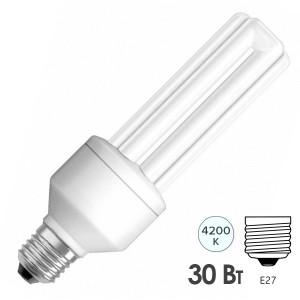 Лампа энергосберегающая Osram Dulux INT LL 30W/840 E27