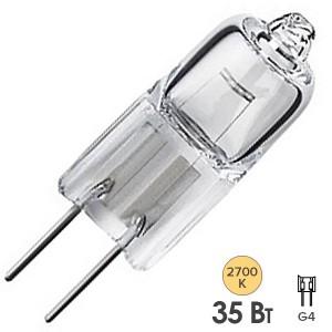 Лампа галогенная HC CL 35W 12V G4 прозрачная