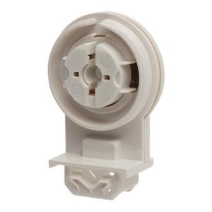 Патрон 84172 VS G13 IP65 одинарный вставной патрон для ламп T8/T12 защелки для металла система 163