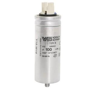 Конденсатор VS WTB 100 мкФ 250V монтаж M8x16