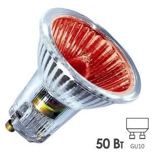 Лампа галогенная BLV Popline Red 50W 35° 220V GU10 красный