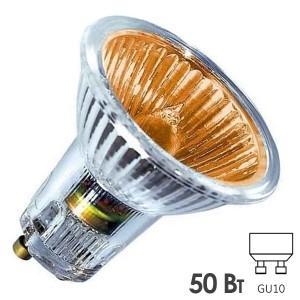 Лампа галогенная BLV Popline Orange 50W 35° 220V GU10 оранжевый