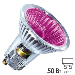 Лампа галогенная BLV Popline Magenta 50W 35° 220V GU10 пурпурный