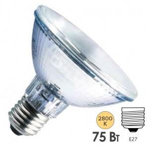 Лампа галогенная Osram 64845SP HALOPAR 30 75W 10° 220V E27 L90.5x97mm