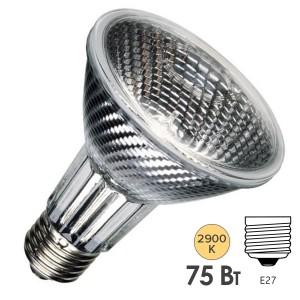 Лампа галогенная Sylvania HI-SPOT 80 75W 30° 220V E27