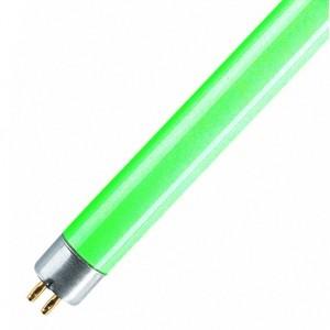 Люминесцентная лампа LТ5 8W GREEN G5 288mm зеленая