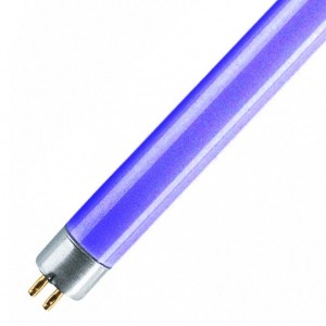 Люминесцентная лампа LТ5 13W BLUE G5 517mm синяя