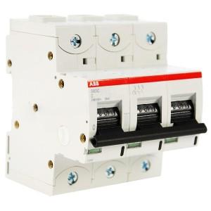 Автоматический выключатель ABB 3-полюсный S803C C80 25kA (автомат)