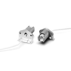 Патрон 30550 VS R7s на ножке металл+керамика T300 провод 1.0 кв.мм