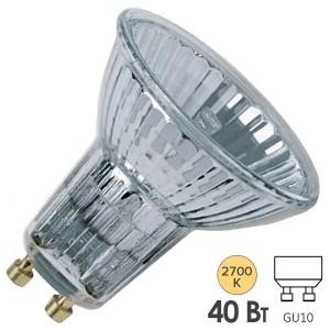 Лампа галогенная Osram 64823 ECO FL Halopar 16 40W(50W) 30° 220V GU10