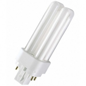 Лампа Osram Dulux D/E 10W/31-830 G24q-1 тепло-белая