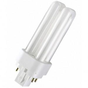 Лампа Osram Dulux D/E 13W/31-830 G24q-1 тепло-белая