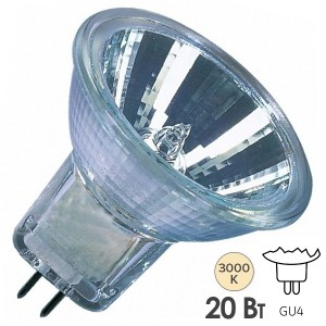 Лампа галогенная Osram 46890 WFL DECOSTAR 35S Titan 20W 36° 12V GU4
