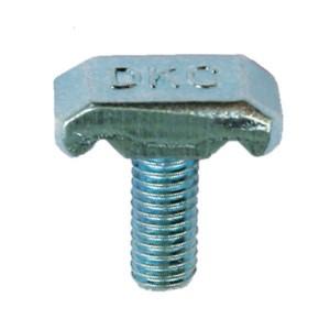 Винт со специальной головкой для проволочного лотка М6х14