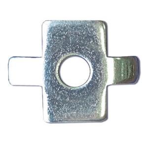 Шайба четырехлепестковая для соединения проволочного лотка (в соединении с винтом М6х20) HDZ