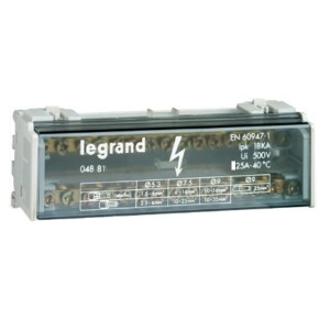 Модульный распределительный блок (кросс-модуль) 2х13 контактов 40A Legrand