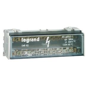 Модульный распределительный блок (кросс-модуль) 2х15 контактов 125A Legrand