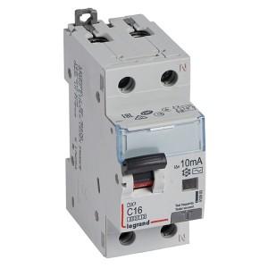 Дифавтомат Legrand DX3 АВДТ 1П+Н C16А 10MA тип AC