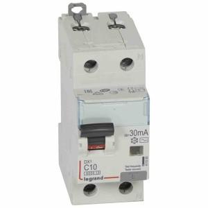 Дифавтомат Legrand DX3 АВДТ 1П+Н C10А 30MA тип AC