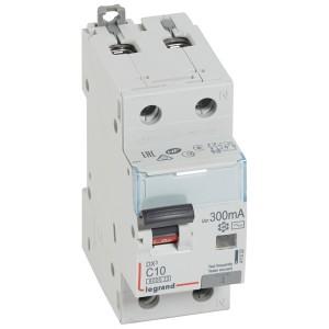 Дифавтомат Legrand DX3 АВДТ 1П+Н C10А 300MA тип AC