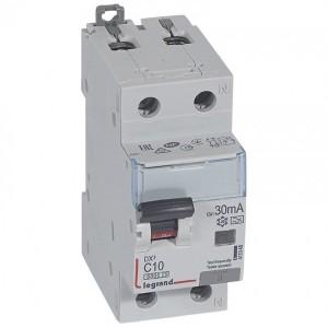 Дифавтомат Legrand DX3 АВДТ 1П+Н C10А 30MA тип A