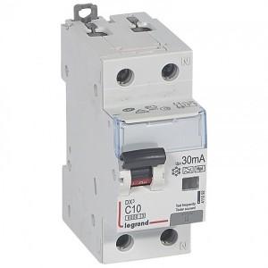 Дифавтомат Legrand DX3 АВДТ 1П+Н C10А 30MA тип Hpi