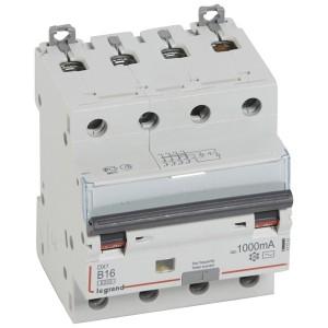 Дифавтомат Legrand DX3 АВДТ 4П B16A 1000mA тип AC 4 модуля