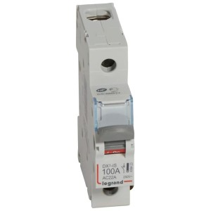 Выключатели-разъединители Legrand DX3-IS 1П 250 В~ 100А 1 модуль