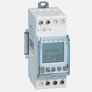 Недельный таймер Legrand электронный дисплей резервное питание до 6 лет 220V 16А 1 выход