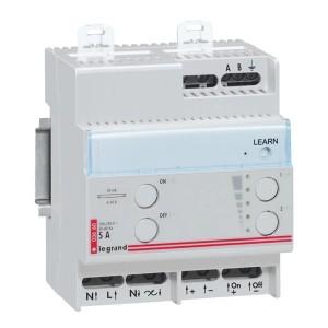 Дистанционный светорегулятор  Legrand для люм. ламп с электорнными баластами 1-10 В 1000ВА 50мА 4м