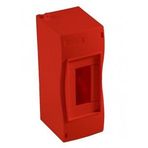 Бокс HEGEL 1-2 модуля без дверки красный