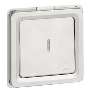 Переключатель с подсветкой IK10-IP55 Legrand Soliroc