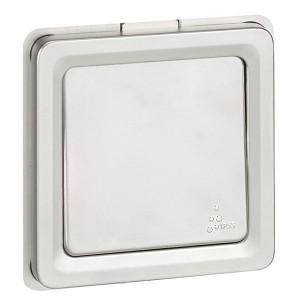Выключатель кнопочный 6А IK10-IP55 Legrand Soliroc