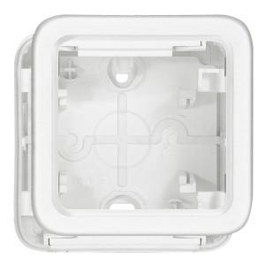 Коробка монтажная Legrand Plexo серии Artic 1 пост, белый