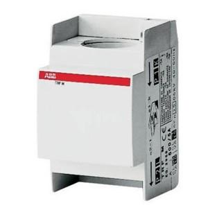 Трансформатор тока модульный ABB TRF M 100/5A, 2ВА, класс 0.5, проходного типа под кабель d29mm