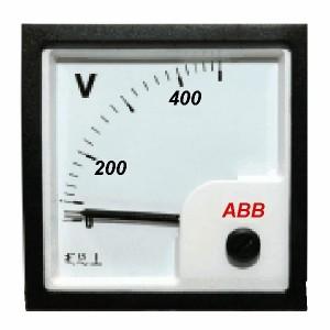 Вольтметр ABB VLM-1-500/96 размер 96х96мм переменного тока