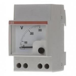 Вольтметр ABB VLM 1/500V модульный переменного тока