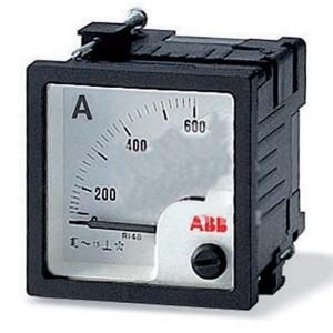 Амперметр ABB AMT1-A1-15/48 переменного тока 15А 48х48мм, прямого измерения