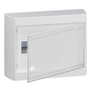 Щит Legrand Nedbox накладной на 12 (+1) модулей (1х12) с шинами N+PE с металлической дверью