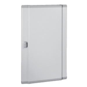 Дверь металлическая выгнутая для шкафов Legrand XL3 160-400 высотой 600мм 3 рейки