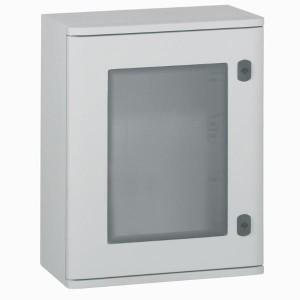 Шкаф из полиэстера Legrand Marina IP66 400x300x206 со стеклянной дверью