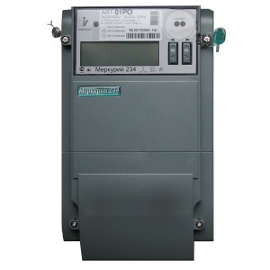 Электросчетчик Меркурий 234 ART-01POR 5-60А 220/380В многотарифный RS-485 ЖКИ встр. силовое реле