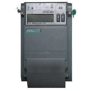 Электросчетчик Меркурий 234 АRТ-02R.L1 5-100А 220/380В многотарифный ЖКИ RS-485 PLC-I