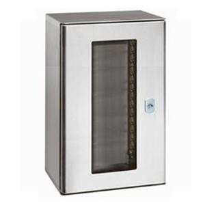 Шкаф из нержавеющей стали Legrand Atlantic inox 304L IP66 1000х800х300 с остекленной дверью