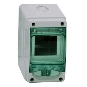 Мини-щиток влагозащищенный KAEDRA IP65 на 4 модуля 200х123х112