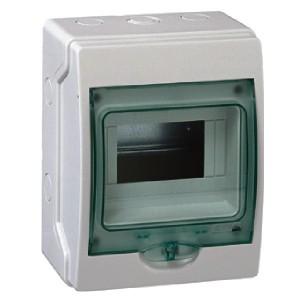 Мини-щиток влагозащищенный KAEDRA IP65 на 6 модулей 200х159х112