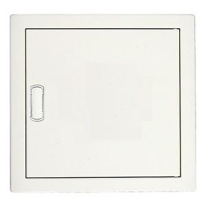 Щит Legrand Nedbox в нишу на 12 (+2) модулей (1х12) с шинами N+PE с металлической дверью